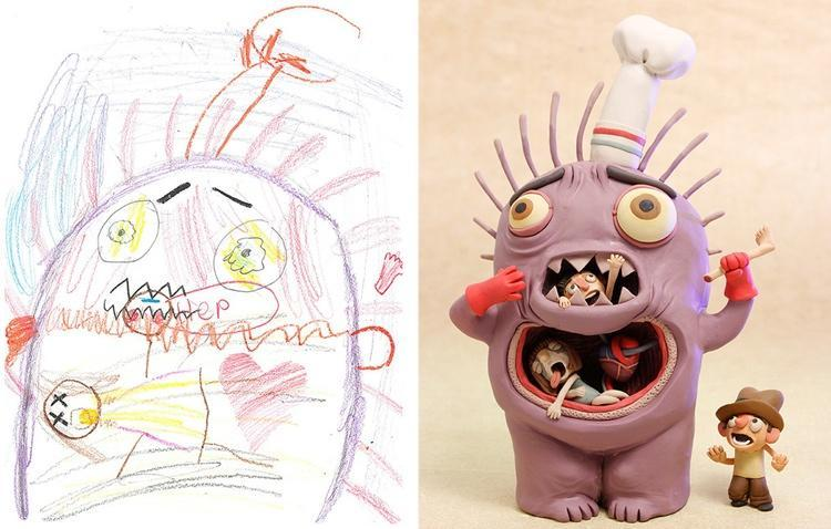 Do you have a burning desire to turn your child's 2D sketches into 3D models?