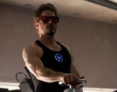 "Who does Tony Stark call ""Point Break""?"