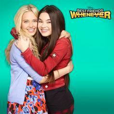 Who are the 2 girls on best friends whenever?