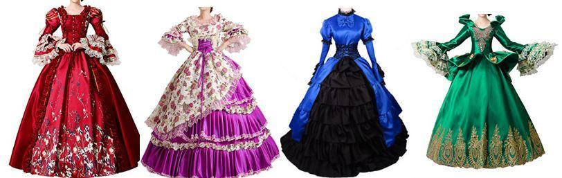 Which Victorian dress is the most dazzling?