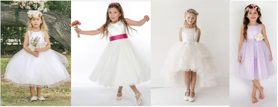 Which flower girl dress would be the talk of the day?