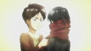 Is Eren and mikasa blood-related?