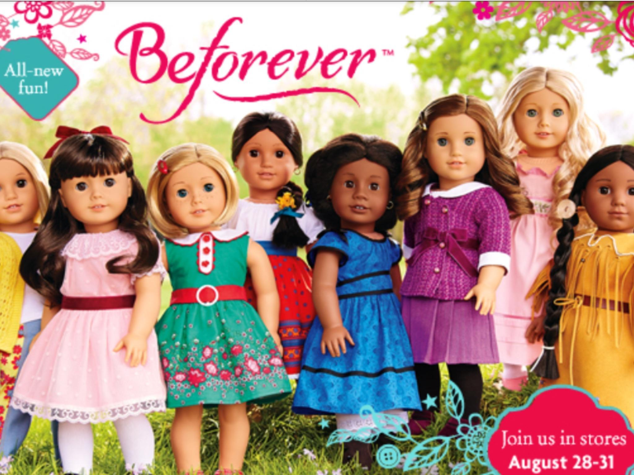 What kind of doll,if u had to pick one: is your favorite?  (American girl doll)in order from left to right:(Julie,Samantha,kit,josefina,addy,Rebecca,Caroline,kaya.)