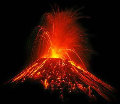 Your traped in a volcano and your dieng. You...