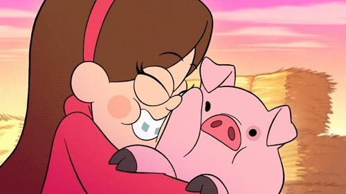 Me:Mabel's turn! Mabel:Yes! Dipper:Why her? Me:Cause she's older! Mabel:Ha!Okay what do you think of pigs?