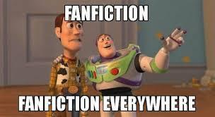 You see a fanfic of your otp.