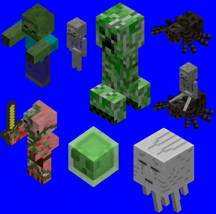 Which minecraft monster is best?