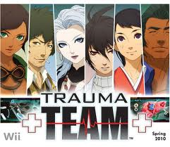 Which playable character from the game Trauma Team is forced to work with a robot? (Hint: They are the diagnostician)