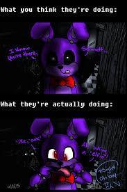 It is 3:57 almost 4 pm Your cautious but hesitant as you look around cautiously but be careful your running out of power. When withered Bonnie suddenly appears in front of you. What do you do?