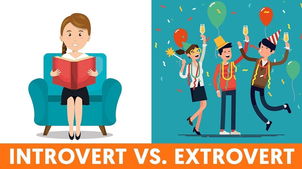 Are you more of an extroverted or introverted person?