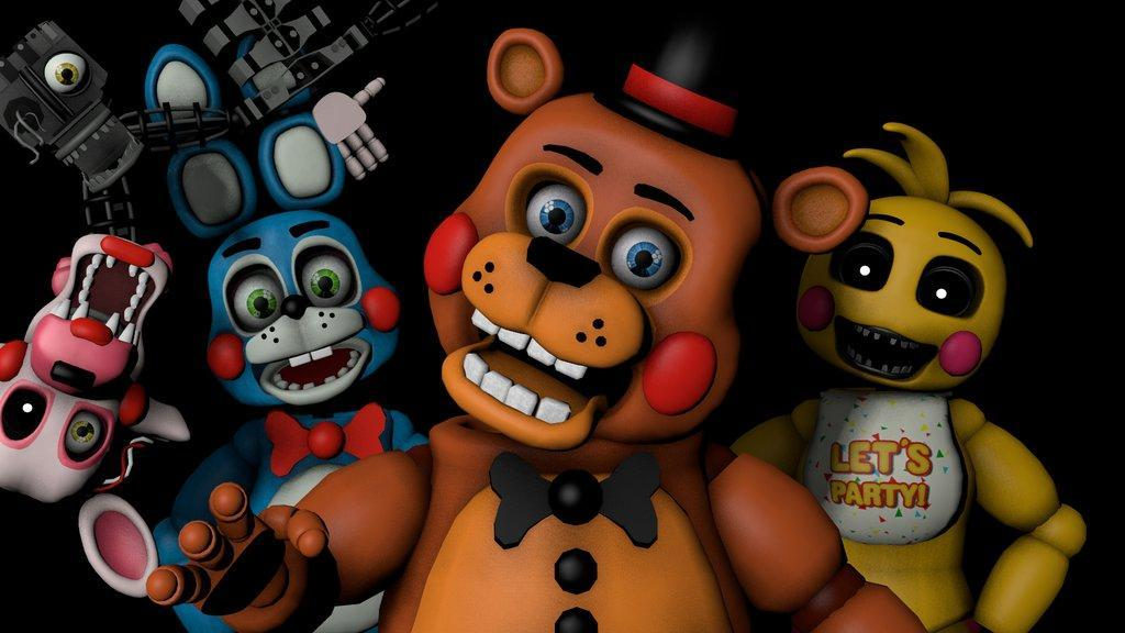 List all fnaf 2 characters (not including the withers)