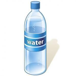 say you have baught plastic bottled water. Is the use by date for the actual water?