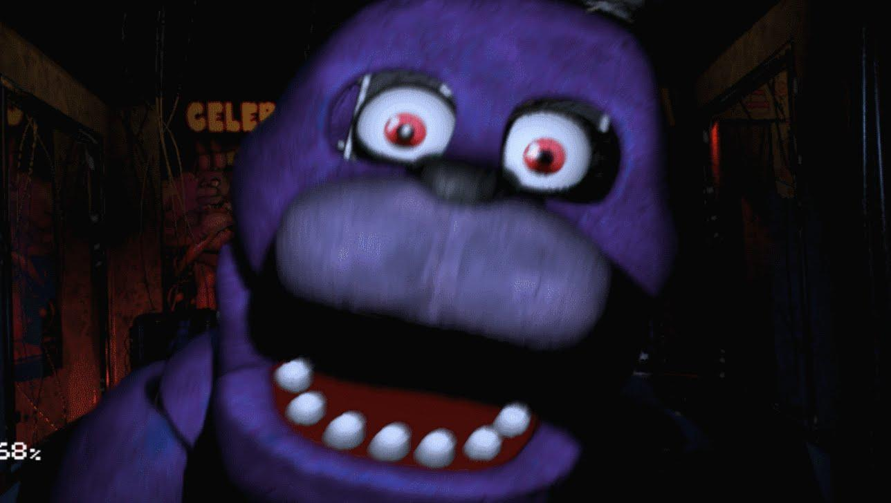 Does Scott think Bonnie's the creepiest animatronic?