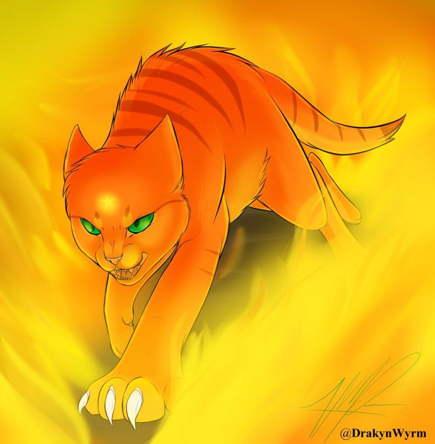 who is Firestar's dad?
