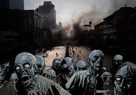 If you were cornered by zombies, what would you do?