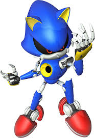 Your parents... you looked at the Metal Sonic angrily. He looked back at you with red daggered eyes.