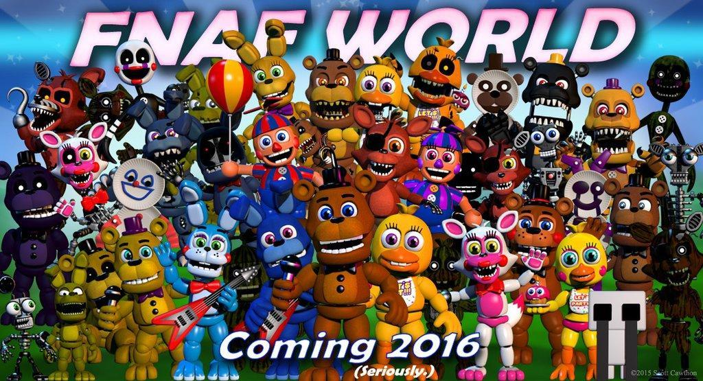 What do you think of fnaf world?
