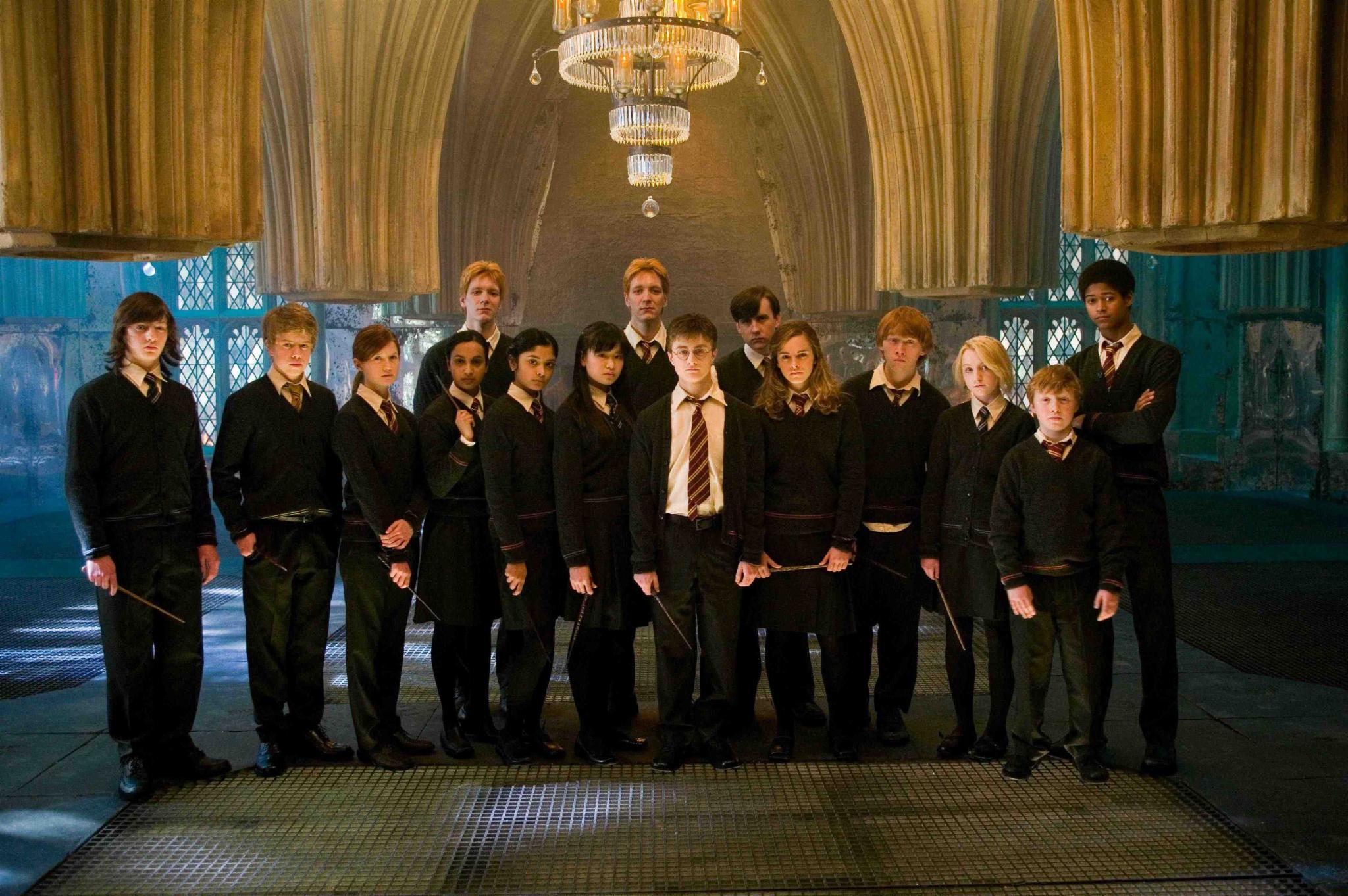 Choose the group that contains the Harry Potter character that is most like you: