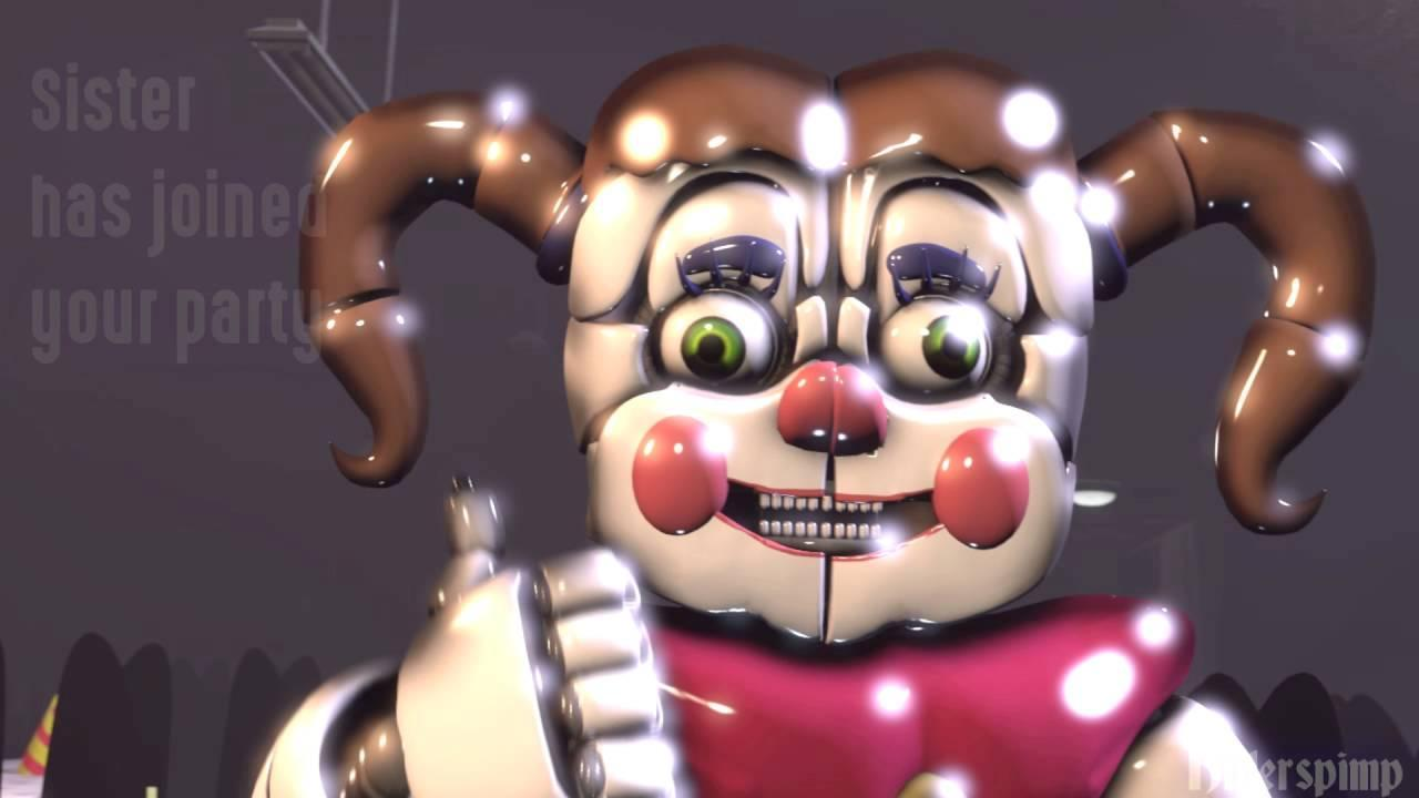 In the sfm Fnaf: cringer location. Freddy take the guitar and punch who?
