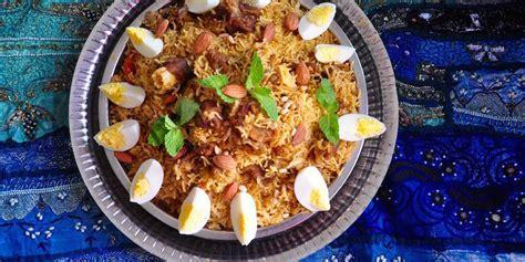 """Kabsa is a family of mixed rice dishes that originates from Saudi Arabia where it is commonly regarded as a national dish.The dish is made with rice and meat."" Wikipedia."