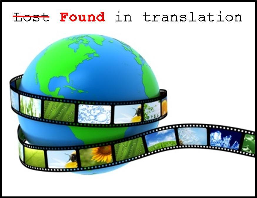 An English language film garnered the screenwriting Oscar for a writer who didn't speak or read English.  Who was it?