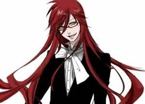 does grell eat regular food? grell: how rude to ask that question! *-*