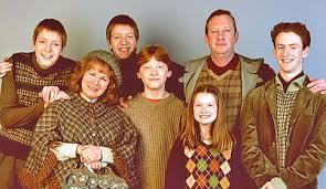 Name all the original Weasleys (8 total)