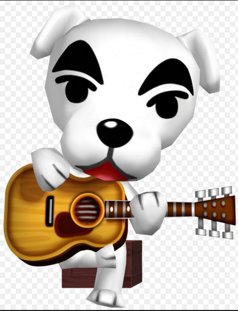 What is the name of the dog who Sings songs for you every Saturday night at Club LOL?