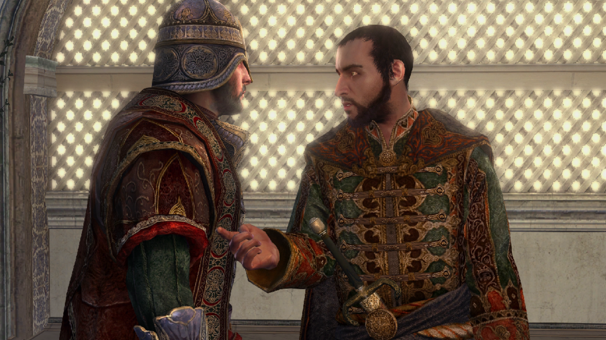 The head of the Byzantine Templars and Ezio's last target is .....
