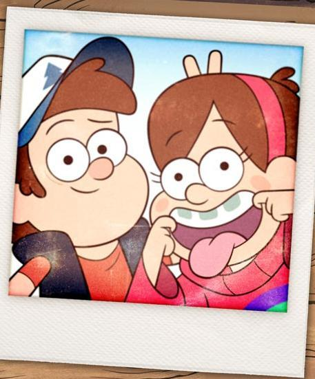 What are the names of the Pines twins?