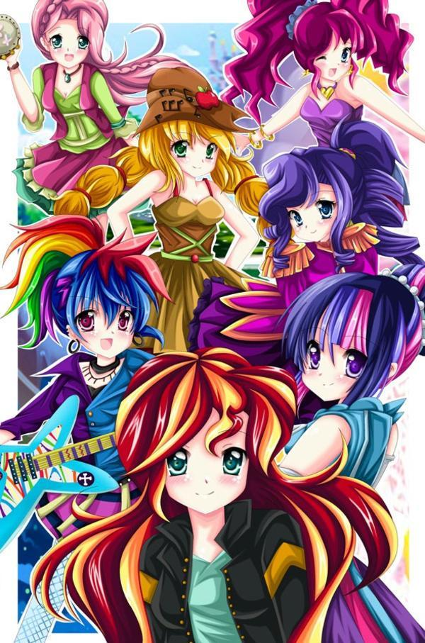Pick a My little pony character