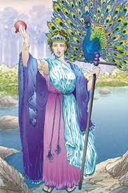 Who is the queen of the gods and goddesses?
