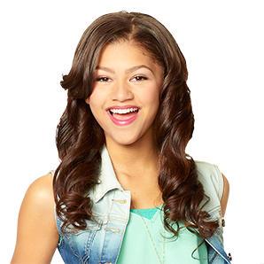 Zendaya plays a spy in which Disney Channel?