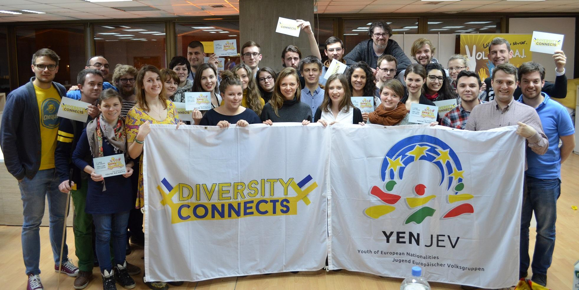 The Youth of European Nationalities was founded in 1984. by 11 youth organizations. Where YEN was formed?