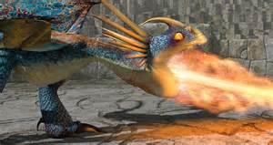 What is Astrid's dragon named?