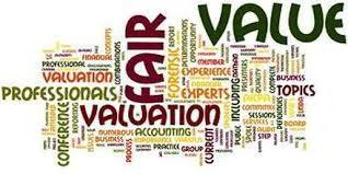 Financial statements report the fair market value of a company.