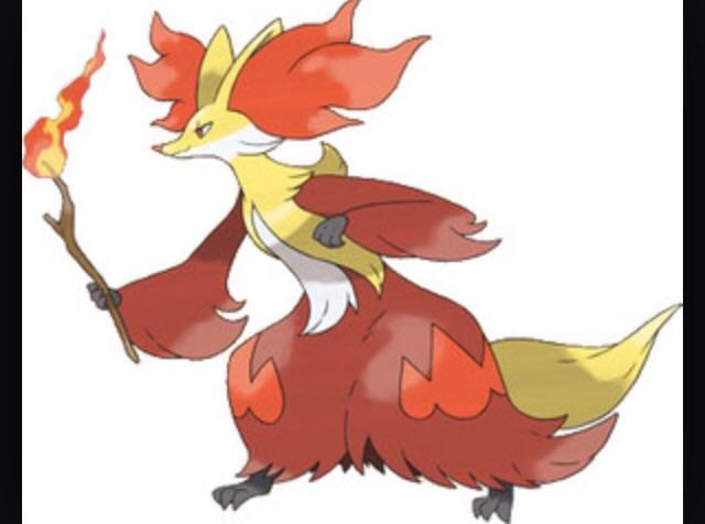 Delphox: What's your element?