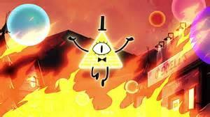 What was the name of the supernatural event that caused Bill Cipher and his friends to take over Gravity Falls?