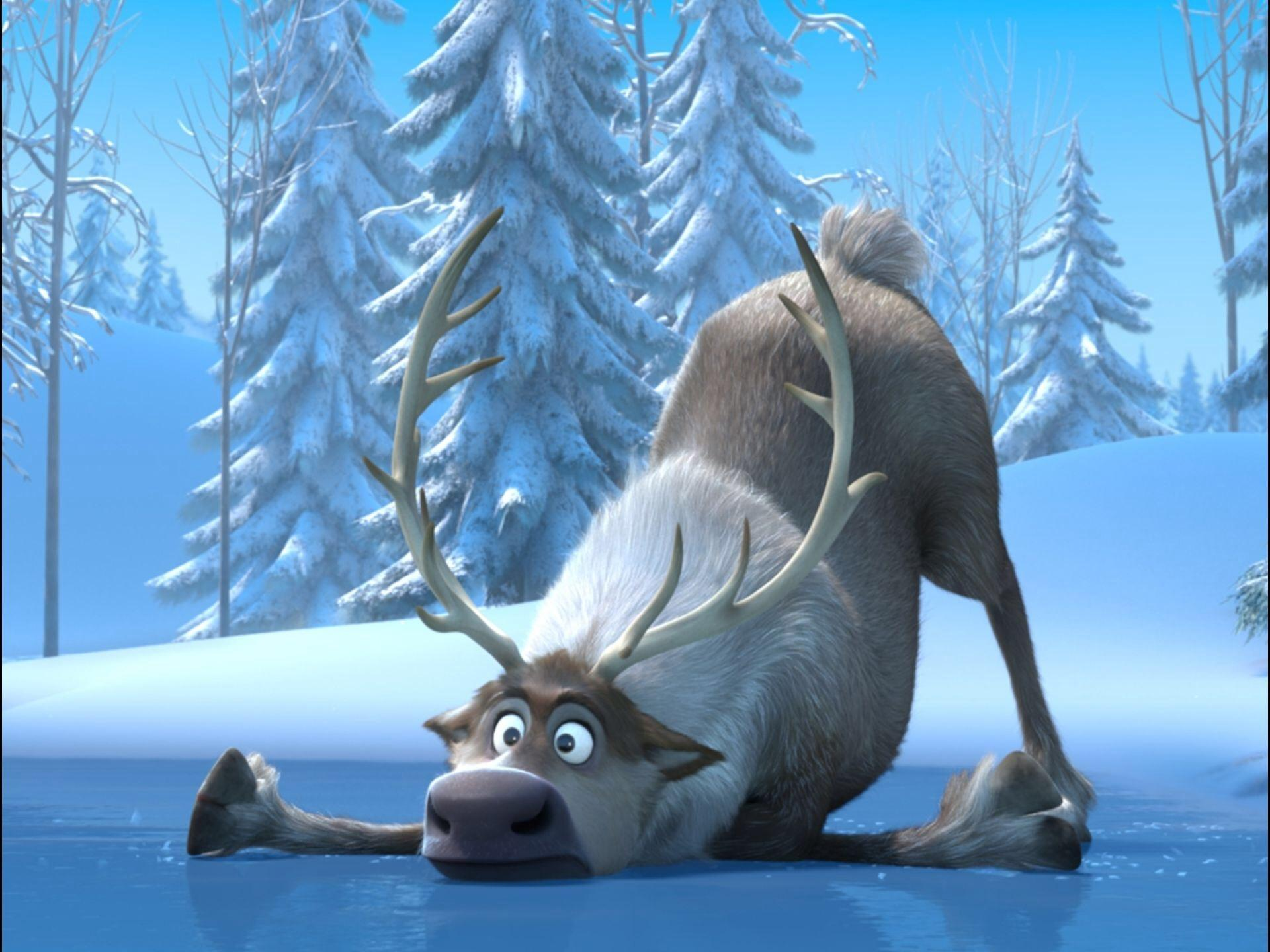 What is the name of Kristoff's reindeer?