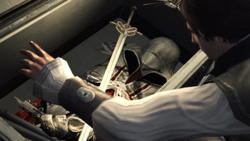 Ezio becomes an assassin: