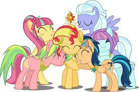Which ponies are in this picture?