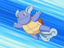 You go in the jym it's a water type! They send in wartortle!