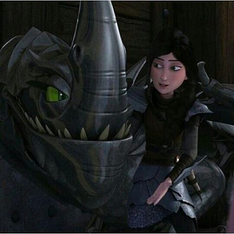 What is Heathers dragons name?