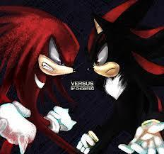 Shadow/Knuckles Love Triangle
