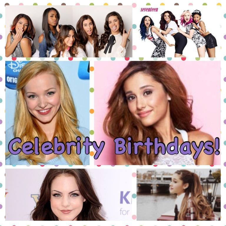 Celebrity Birthdays!