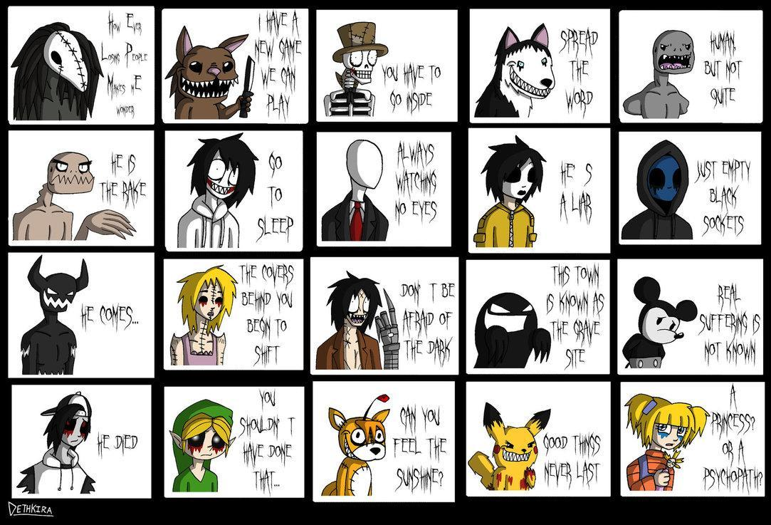 Creepypasta Poetry Collection