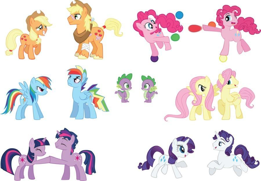 Pony pals. (Characters so far)
