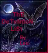 ThE DeTeNtIoN LiSt