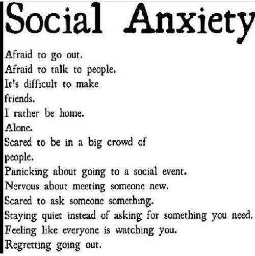 Struggle with Social Anxiety