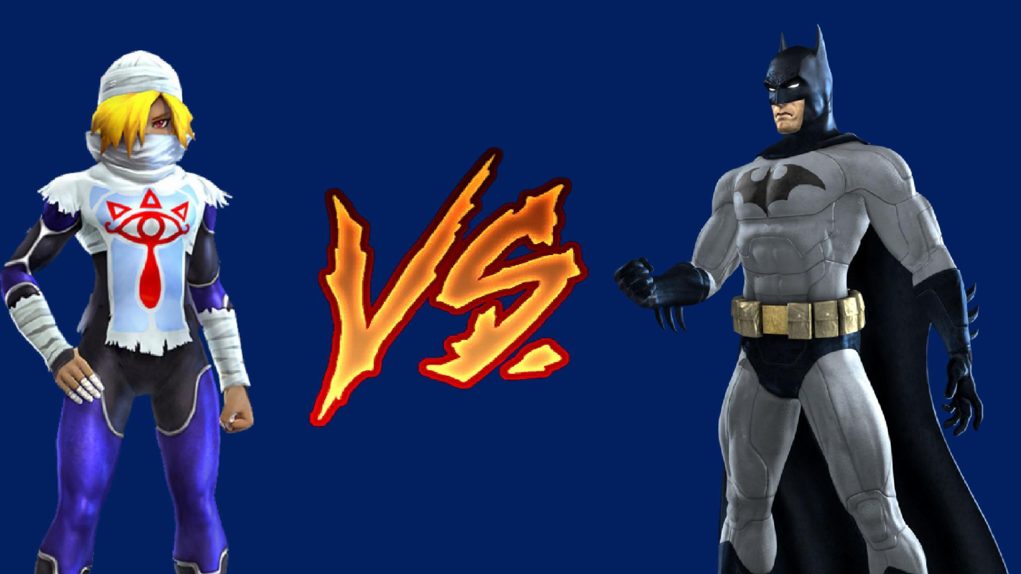 Sheik/Zelda VS Batman